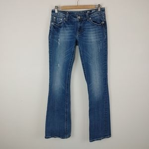 MISS ME | Size 29 Low Rise Boot Cut Jeans